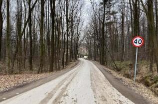 Chocznia, ulica Kościelna