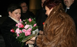 Premier Beata Szydło w Kalwarii Zebrzydowskiej