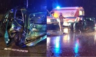 """Dwie osoby poszkodowane w wypadku. Sprawca był """"pod wpływem""""?"""