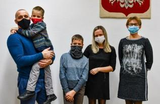 Dwie rodziny z Białorusi znalazły schronienie w gminie Mucharz