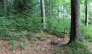 IPN odkopał grób partyzanta