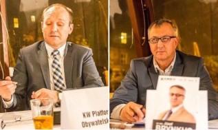 Posłowie Marek Sowa z Nowoczesnej i Józef Brynkus z Kukiz'15