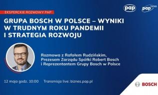 Grupa Bosch w Polsce - wyniki w trudnym roku pandemii i strategia rozwoju