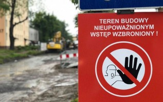 Strabag kończy budowę kanalizacji deszczowej. Za chwilę zbudują parking