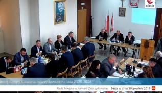 Ostatnia sesja Rady Miasta w Kalwarii Zebrzydowskiej