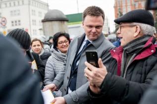 Kandydat na prezydenta będzie zbierał podpisy na rynku w Wadowicach