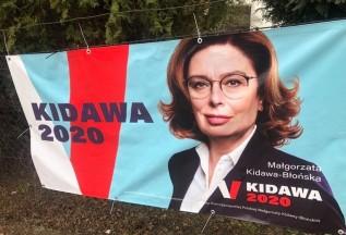Kampania M. Kidawy - Błońskiej w Wadowicach