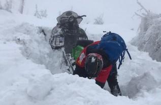 Na Babiej Górze zalega około 70 cm śniegu/ Ilustracja