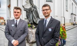 Bartosz Wilczyński i Emil Krawczyk będą otwierać w naszym okręgu listę Konfederacji Wolność i Niepodległość