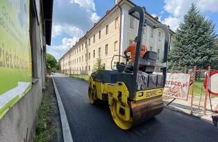 Koniec końców ulica Krótka w Wadowicach doczekała się remontu