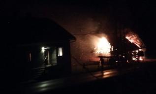 Pożar stodoły w Zakrzowie