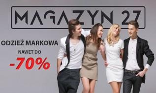 Magazyn 27, nowy sklep odzieżowy w Wadowicach. Zakupy stacjonarnie i przez internet!