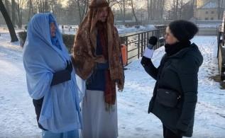 Maria i Józef w Andrychowie, czyli jasełka na wesoło z nauczycielami w rolach głównych