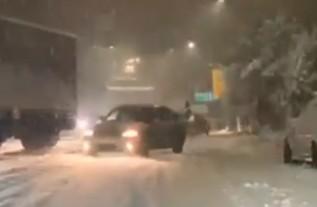 Kadr z filmu z Andrychowa