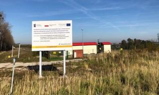 Budowa strefy aktywności gospodarczej w Andrychowie