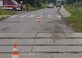 Niebezpiecznie na przejazdach kolejowych. Groźny wypadek w Ryczowie