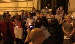 Protest w Wadowicach