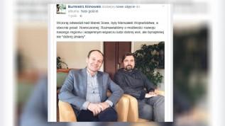 Polityczna przyjaźn z Nowoczesną ma doprowadzić Klinowskiego do drugiej kadencji na fotelu burmistrza Wadowic