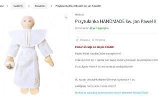 Przytulanka św. Jan Paweł II