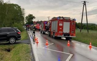 Wypadek w Przytkowicach