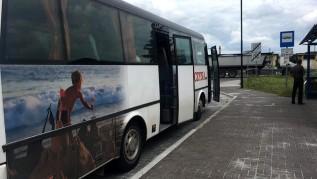 Tak zwana komunikacja miejska w Wadowicach, czyli darmowy bus, jeździ już prawidłowo.