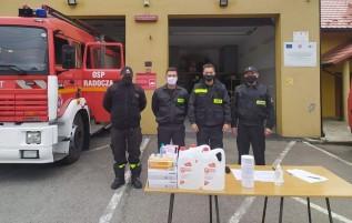 OSP w Radoczy zorganizowała zbiórkę dla DPS sióstr nazaretanek