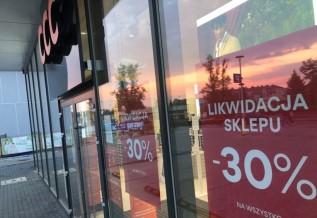 Po 20 latach marka CCC opuszcza Wadowice. Sklep w likwidacji