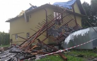 Rodzina z Brzeźnicy straciła dach nad głową