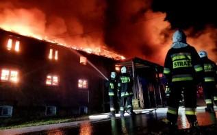 Pożar w Izdebniku
