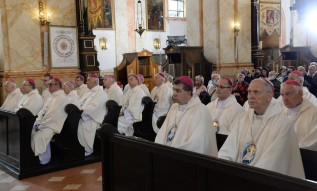 Polscy biskupi na modlitwach w Wadowicach i w Kalwarii Zebrzydowskiej