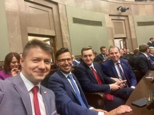 Wsród nowych posłów jest Filip Kaczyński z Wadowic