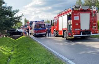 Wypadek w Wieprzu