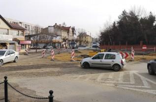 Powoli wyłania się wygląd nowego ronda w Wadowicach