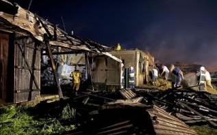 Pożar w małopolskiej wsi zniszczył dziesiątki domów, zginęły zwierzęta. Trwa zbiórka dla pogorzelców