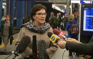 Ewa Kopacz wybiera się do powiatu wadowickiego