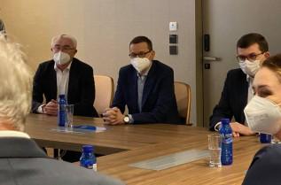 Premier Morawiecki odwiedził wadowicki Maspex. Rozmawiał tutaj o polskim biznesie