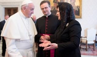Beata Szydło spotkała się w piątek z papieżem Franciszkiem