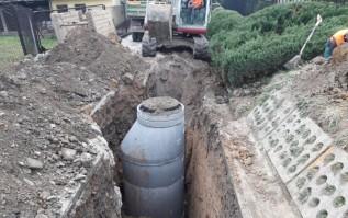 Budowa wodociągu
