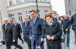 Prezydent Andrzej Duda w Wadowicach, 2015 rok