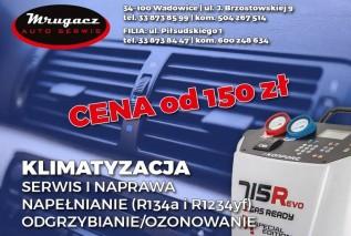 Promocja na serwis klimatyzacji. Mrugacz Auto Serwis zaprasza!