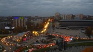 W poniedziałek protestujące kobiety wsiadły w samochody i zablokowały Katowice