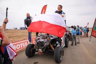 Marek Goczał i Rafał Marton kończą Rajd Dakar na 8 miejscu. Na ostatnim odcinku specjalnym zanotowali 10 czas