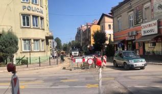 """Remonty ulic w Wadowicach uderzyły w handel i usługi. """"Ten rok jest dla nas fatalny"""""""