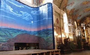 W piątek (29.11) została zainstalowana w bazylice panorama