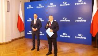 Minister Andrzej Adamczyk ogłosił w sobotę program budowy 100 obwodnic w Polsce