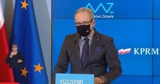 Adam Niedzielski, minister zdrowia, poinformować