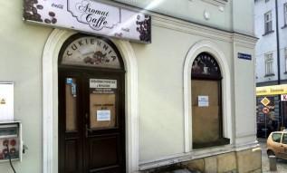 Aromat Cafe w Wadowicach znów pusty