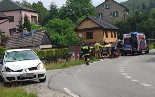 Wypadek w Kocierzu Moszczanickim