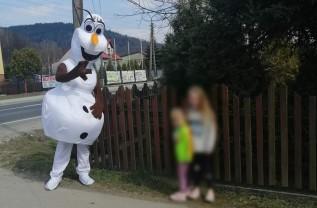 Strażak Olaf był niespodzianką
