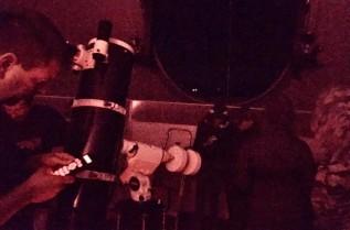 W szkolny obserwatorium astronomicznym w Sułkowicach Bolęcinie